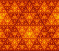 Free Seamless Triangles Pattern Background Royalty Free Stock Images - 29204649