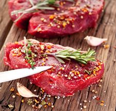 Beef Steak. Royalty Free Stock Photo