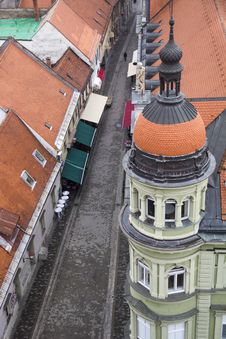 Free Maribor From Above Royalty Free Stock Images - 29201429