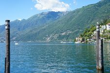 Free The Lake Maggiore In Switzerland Stock Photography - 29202942
