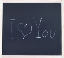 Free I Love You Royalty Free Stock Image - 29204656