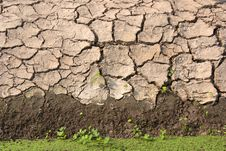 Free Soil Along The Canal. Stock Photography - 29204912
