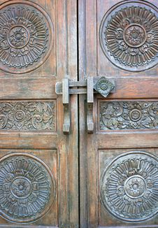 Free Antique Door Royalty Free Stock Images - 29204969