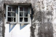 Free Exterior Wall The Window. Stock Image - 29205311