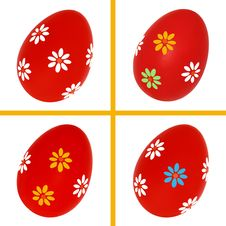 Free Set Of Easter Eggs Royalty Free Stock Photography - 29209897