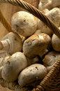 Free Basket Of Champignons Stock Image - 29217341