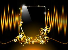 Glossy Like Smart Phone Stock Photos
