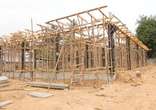 House Under Construction Stock Photos