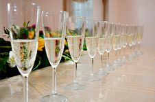 Free Champagne Glasses Stock Photos - 29215683