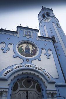Free Bratislava Blue Church Stock Photography - 29218142