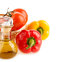 Free Pepper And A Bottle With Olive Oil Stock Images - 29213064