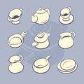 Free Cookware Set Stock Photos - 29222183