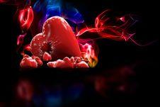 3D Heart Royalty Free Stock Photo