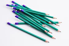 Free Black Pencils Stock Images - 29221664