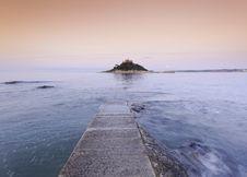 Free Sunset Over Saint Michael´s Mount Royalty Free Stock Photos - 29224548