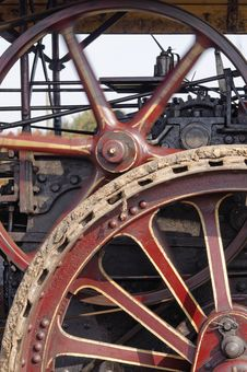 Free Steam Engine Wheels Stock Images - 29224724