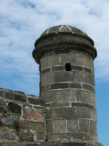 Free Fort Matanzas Lookout Royalty Free Stock Photo - 29225745