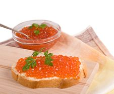 Free Red Caviar Royalty Free Stock Photography - 29228997