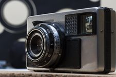 Free Vintage Camera Detail Stock Photography - 29229892