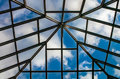 Free Roof Skylight With Sky Royalty Free Stock Photos - 29232828