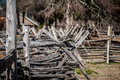 Free Old Country Village Fence Stock Photography - 29233132
