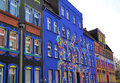 Free Colorful Facades In A Street Stock Photo - 29234000