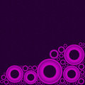 Free Purple Background With Pink Circles At Bottom Royalty Free Stock Photo - 29237055