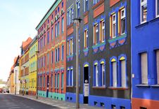 Free A Street With Colorful Houses Stock Image - 29234081