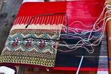 Free Thai Silk. Royalty Free Stock Image - 29234726