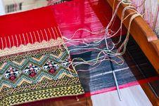 Free Thai Silk. Royalty Free Stock Image - 29234756