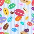 Free Macaroons Pattern Royalty Free Stock Image - 29244936