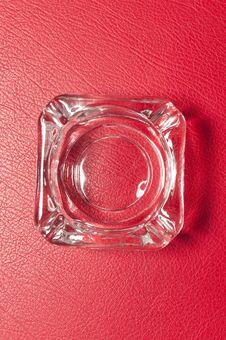 Free Glass Ashtray Royalty Free Stock Photography - 29244507