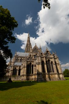 Free Salisbury Cathedral Royalty Free Stock Photo - 29245675