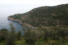 Punta Vaccola Royalty Free Stock Photo