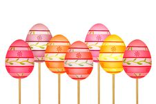 Free Colorful Easter Eggs Royalty Free Stock Photos - 29246868