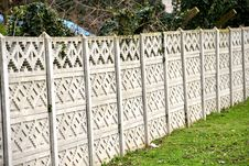 Free Concrete Fence Royalty Free Stock Images - 29248429