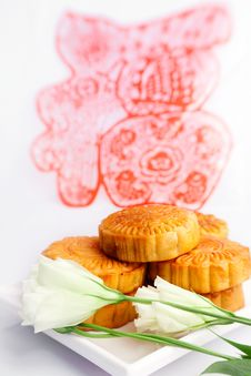 Free Chinese Traditional Pastry Royalty Free Stock Photos - 29251648