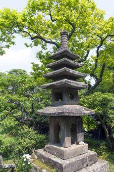 Free Japanese Lantern Royalty Free Stock Photo - 29252705