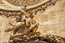 Free Saint George Statue Stock Photography - 29256802