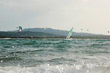 Free Surfing Sardinia 04 Royalty Free Stock Photos - 29257978