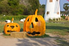 Free Halloween Pumpkin Stock Image - 29258751