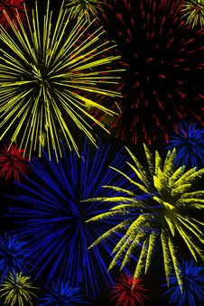 Free Fireworks Royalty Free Stock Photography - 29259177
