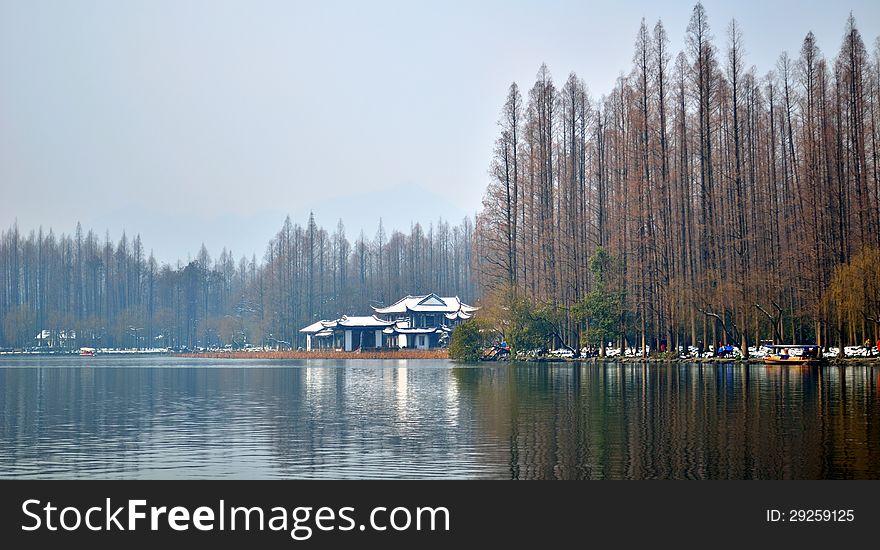 West Lake winter