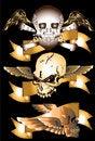 Free Skull Art Royalty Free Stock Images - 29261079