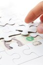 Free Missing Puzzle Piece Concept Royalty Free Stock Images - 29268269