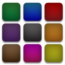 Free Web Blank Buttons Set Stock Photos - 29260193