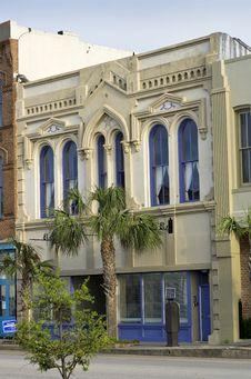 Free Vertical: Historic Architecture In Galveston, Texa Stock Photos - 29261573
