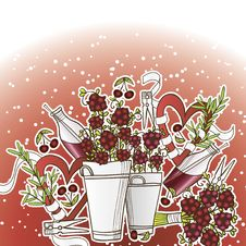 Free Сherry Bouquet Royalty Free Stock Photos - 29261918