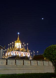 Iron Temple &x28;Wat Ratchanatdaram Worawihan&x29;, Bangkok, Thailand Stock Images