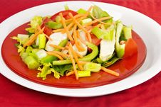 Free Salad Royalty Free Stock Photo - 29263675